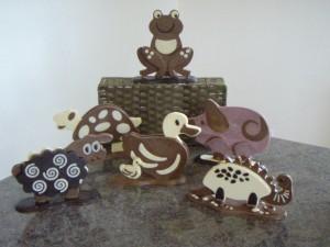 Le-Salon-Du-Chocolats-animals-300x225 Chocolate workshops hit the sweet spot!