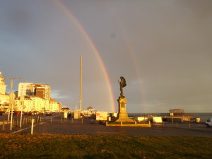 i360.angel_.rainbows-300x225 A glimpse of Hove / West Brighton seafront