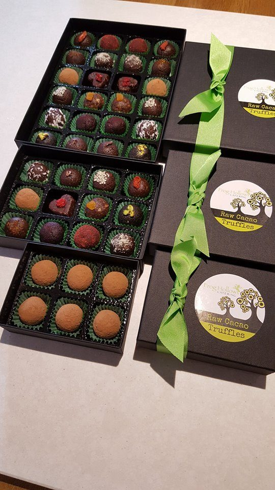 rawcacaotruffles Tea Party Catering – something a bit different!