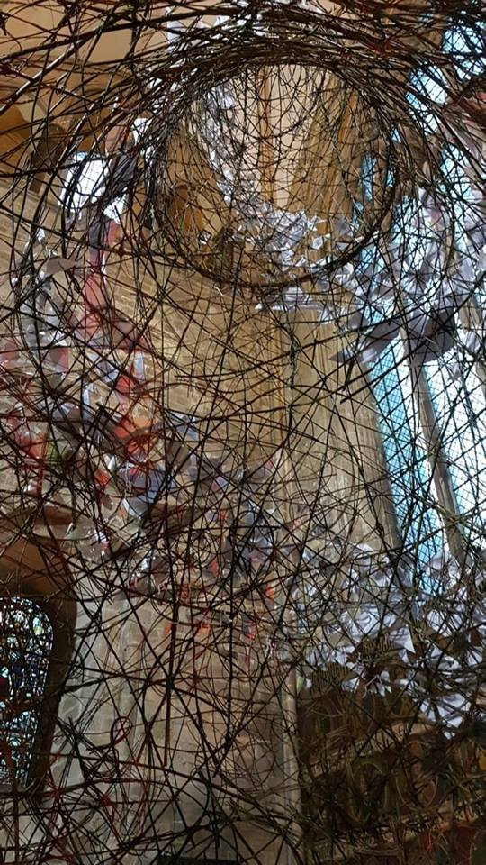 SpireofPeace.inside The Spire of Peace - Chichester Cathedral