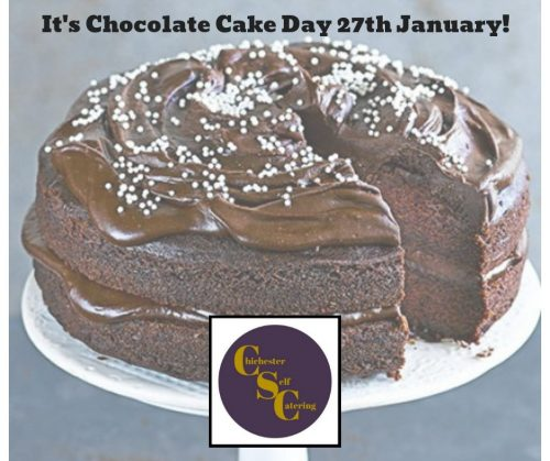 It's Chocolate Cake Day 27th January!