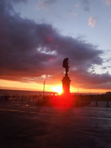 Angelsunset-225x300 A glimpse of Hove / West Brighton seafront