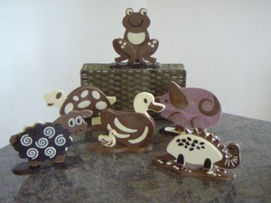 Le-Salon-Du-Chocolats-animals-300x225 Chocolate workshops hit the sweet spot!