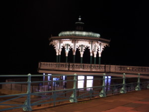 The-Bandstand-at-night-300x225 A glimpse of Hove / West Brighton seafront