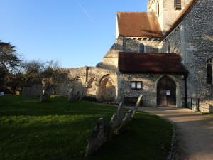 Boxgrove-Priory-outside-300x225 Boxgrove Priory