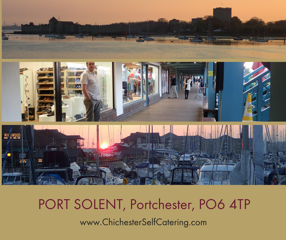 PORT-SOLENT-Portchester-PO6-4TP Port Solent - a gem overlooking Portsmouth Harbour