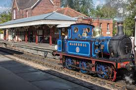 BluebellRailway.stn_ Dog-friendly places where humans can eat in West Sussex!