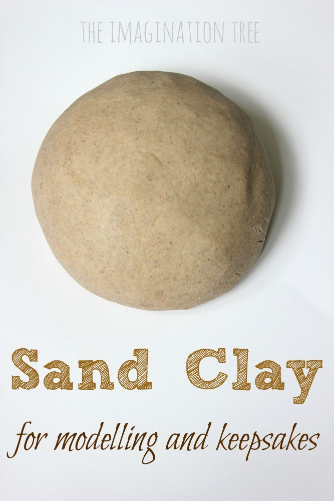DIY-sand-clay-recipe Make a beach keepsake for all the family.