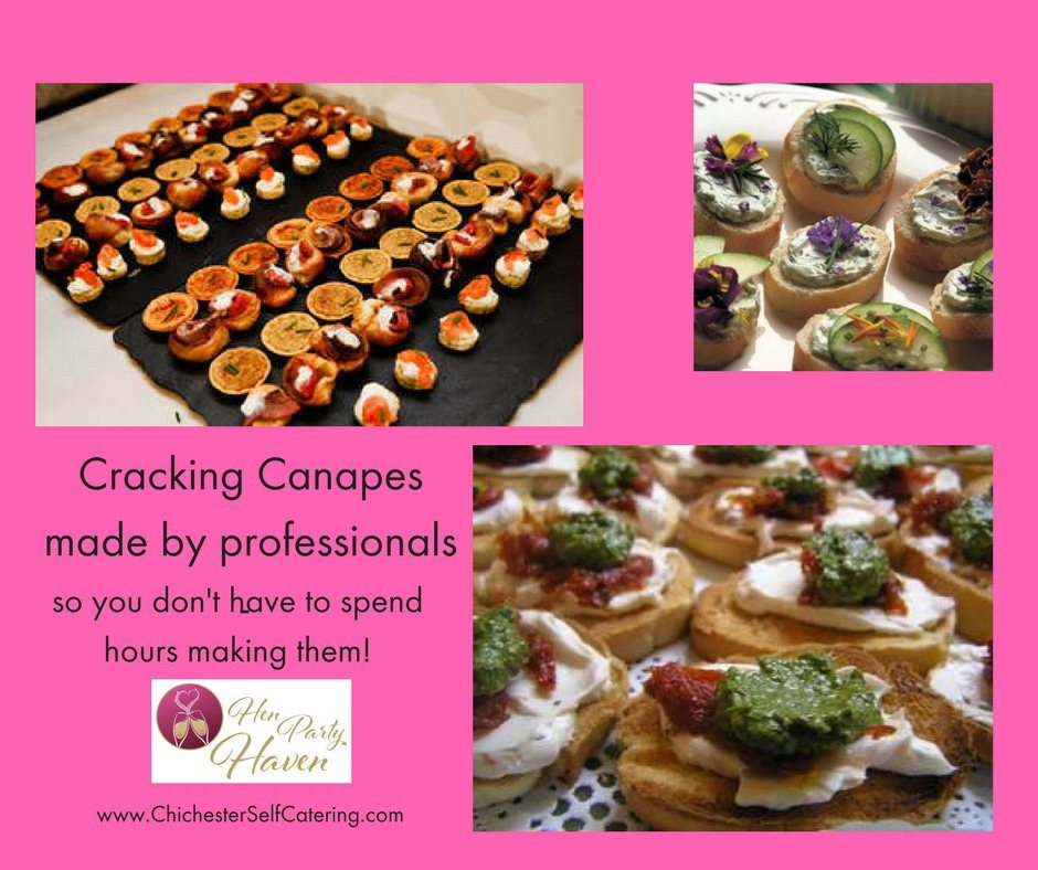 Cracking-canapesby-professionals Canapes for perfect parties - made easy