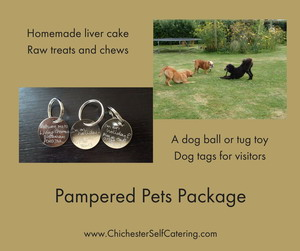 Pampered-Pets-Package Extras you can add to your family holiday booking
