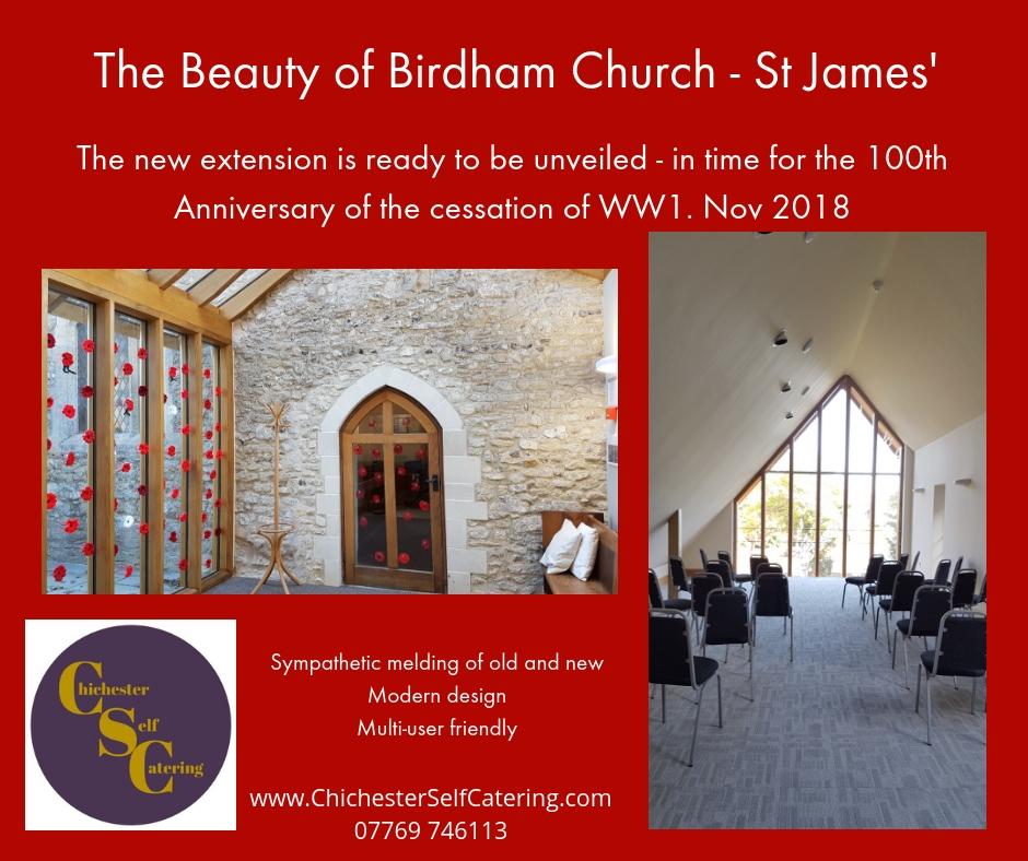 StJames.1 New extension for St James' Church, Birdham