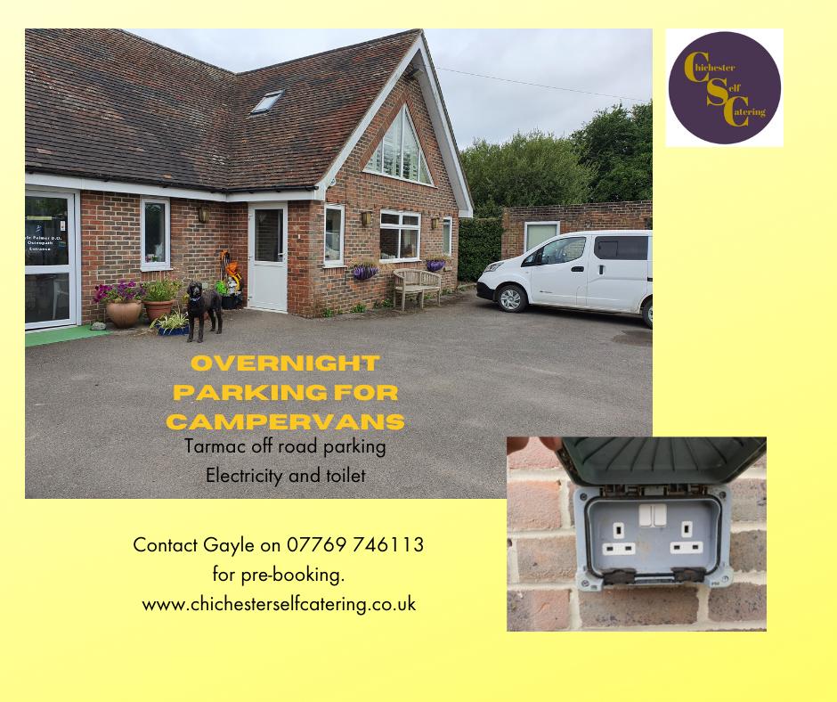 Overnight-parking-for-campervans Overnight parking and facilities for campervans and tourers