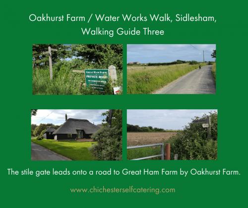 No3 Road to Great Ham farm